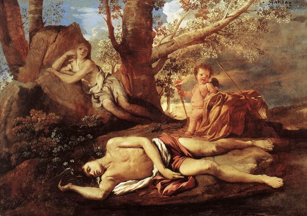 NicolasPoussin-Echo-and-Narcissus-1629